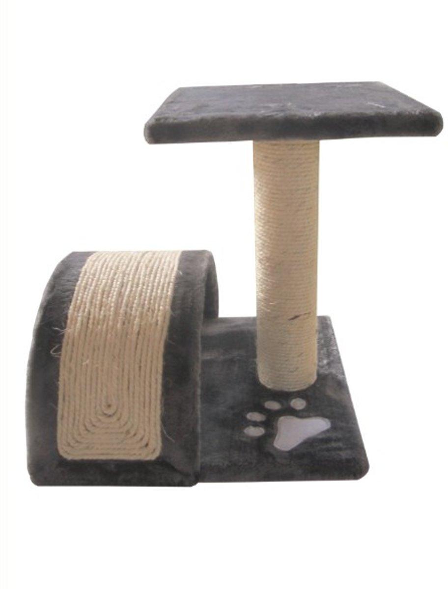 Topmast Krabpaal Betty 35 * 35 * 42 cm grijs