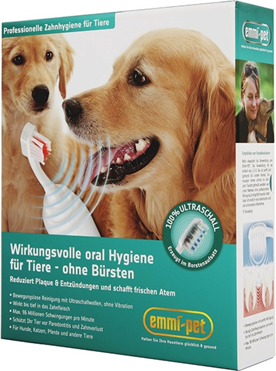 Emmi-Pet Honden-Tandenborstel Basis Set kopen