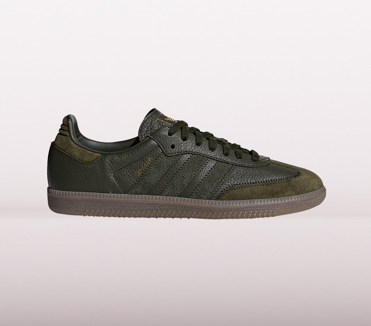 | Adidas Samba Og Ft Sneakers Heren Donkergroen