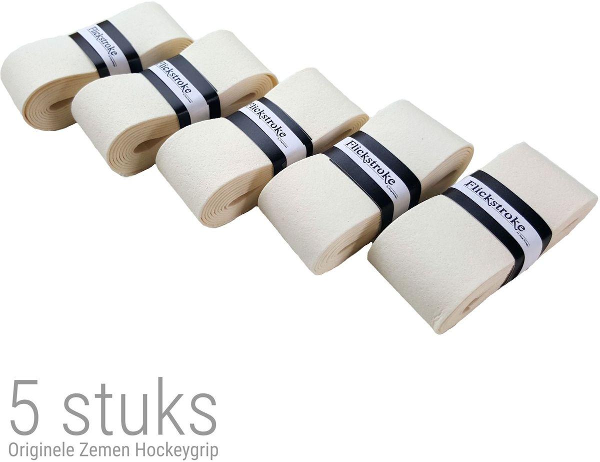 Hockey grip zeem voor hockeystick | 5 stuks overgrip | Wit | ZG02 kopen