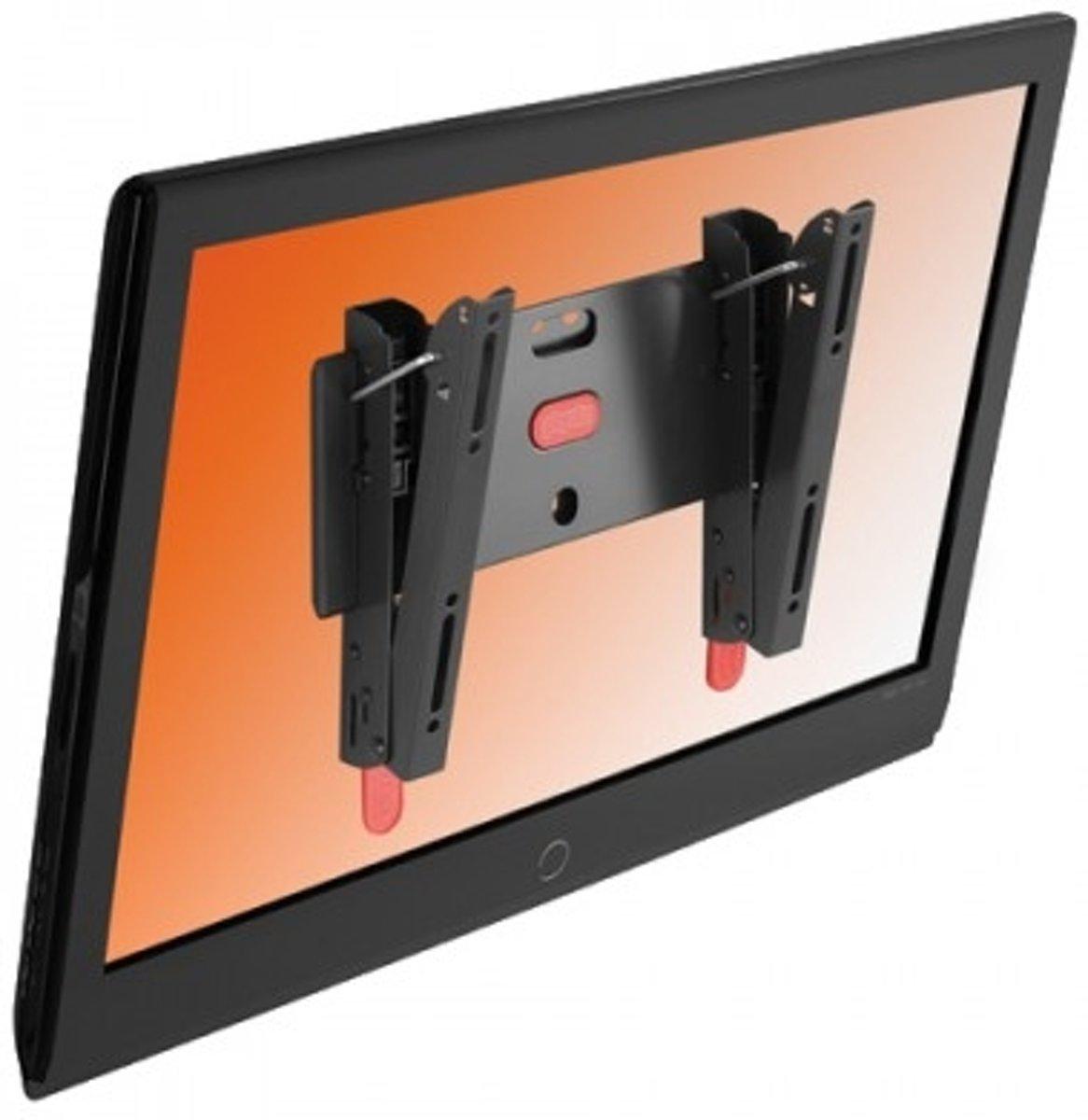 Physix PHW 200S - Kantelbare muurbeugel - Geschikt voor tv's van 10 t/m 26 inch - Zwart kopen