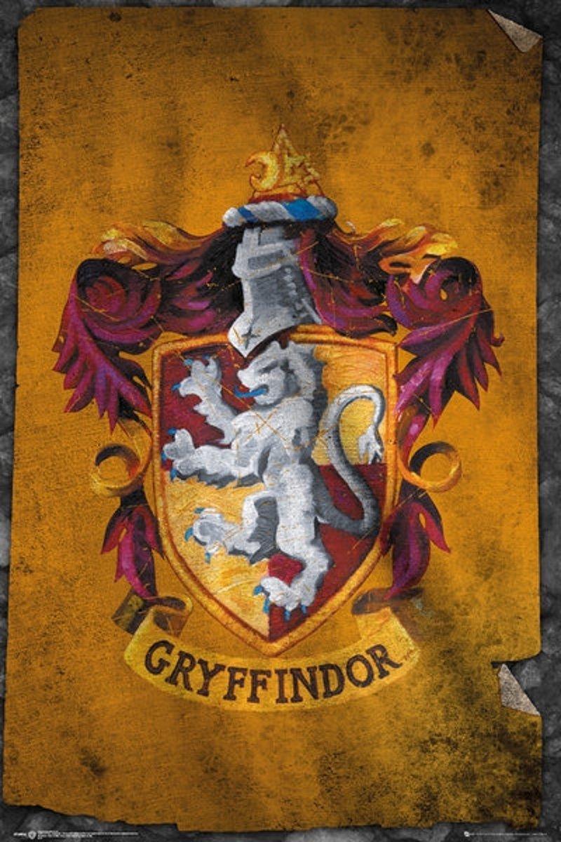 HARRY POTTER GRYFFINDOR FLAG Maxi Posters (61x91 5) kopen