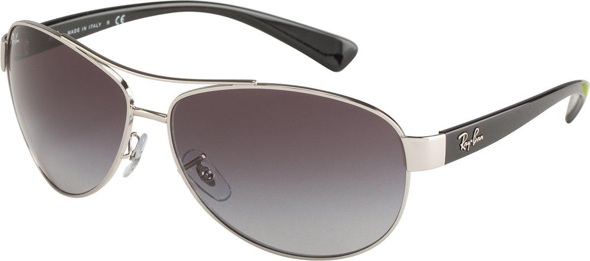 Ray-Ban RB3386 003/8G - zonnebril - Zilver-Zwart / Grijs Gradiënt - 63mm kopen