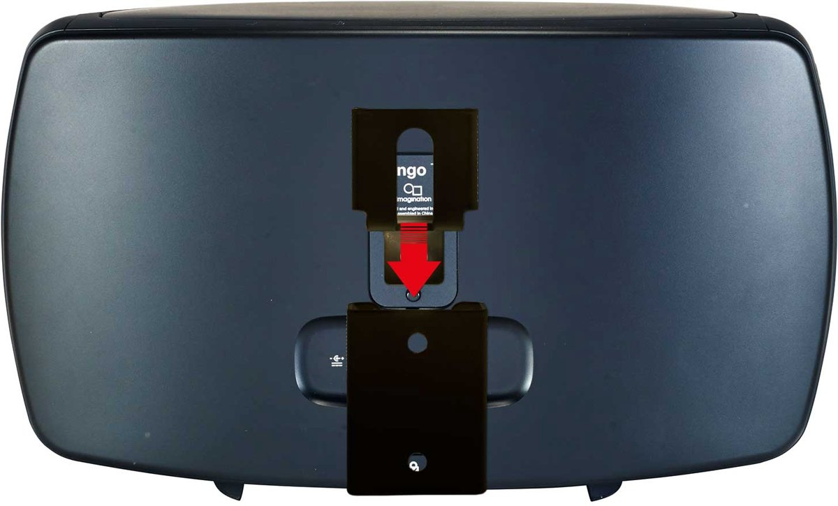 Vebos portable muurbeugel Pure Jongo T4X zwart kopen