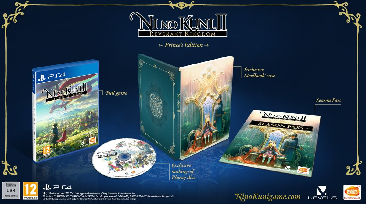 Ni no Kuni II: Revenant Kingdom - Prince's Edition PlayStation 4