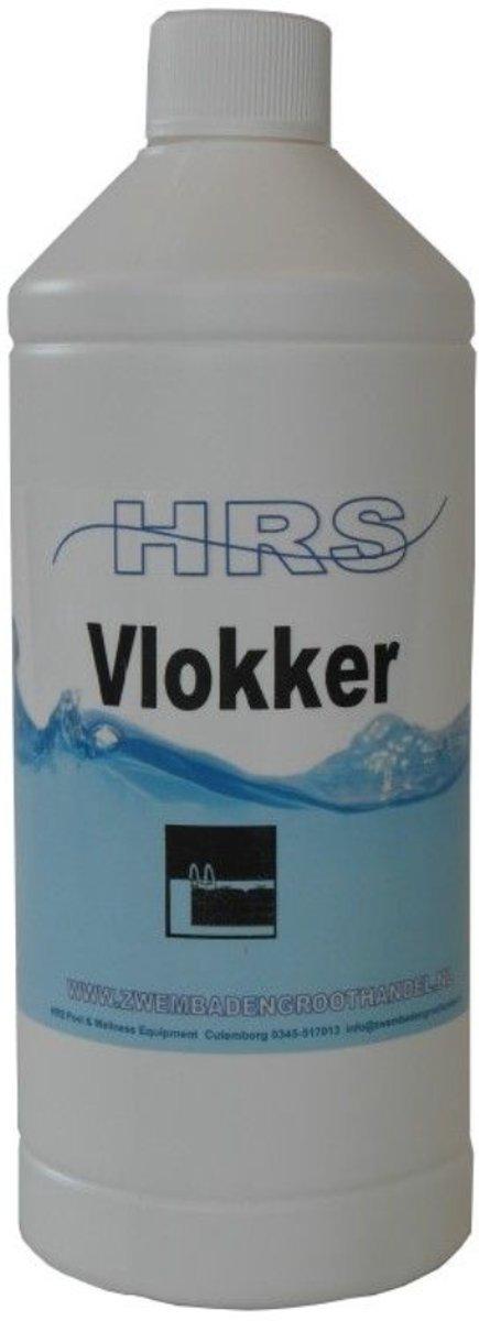 vloeibaar vlokker 1 liter HRS - Zwembad - Onderhoud - Vuil verwijderen - Helder water - Bind Vuil