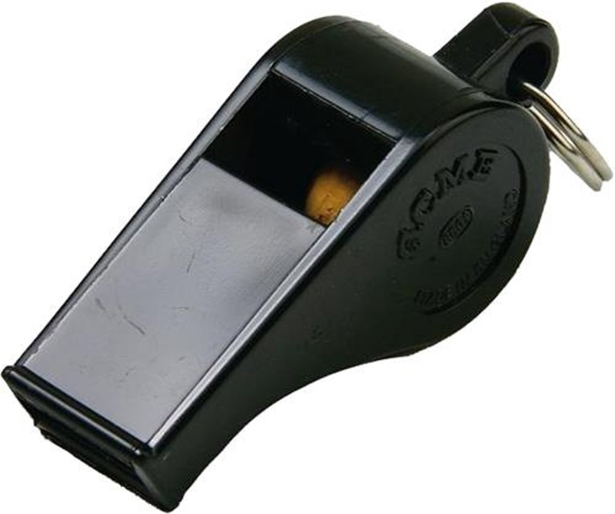 Acme Thunderer 660 Scheidsrechtersfluit Kunststof Zwart Small kopen