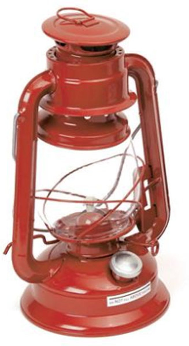 Boomex 55603 Olielamp Party Rood