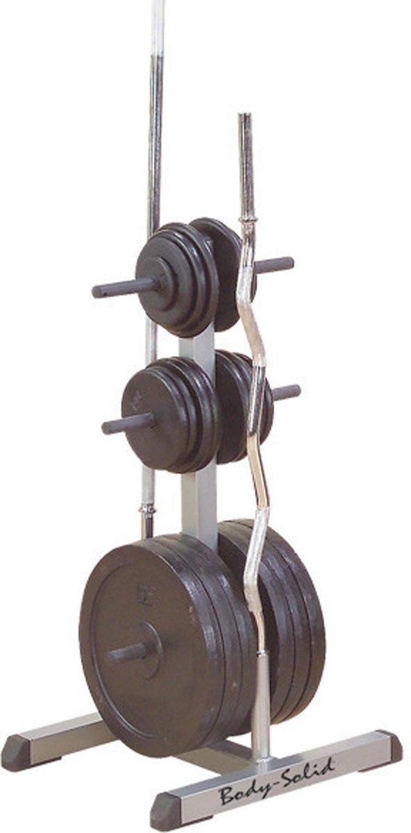 Body-Solid - Halterschijf/-stang opbergsysteem - GSWT kopen