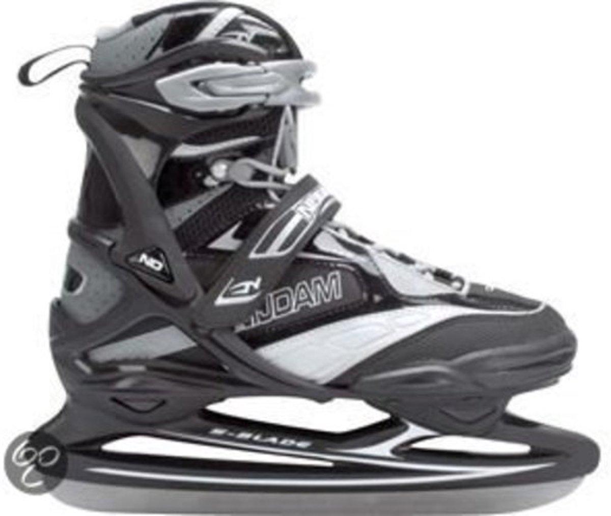 Nijdam Pro Line IJshockeyschaats - Schaatsen - Unisex- Maat 42