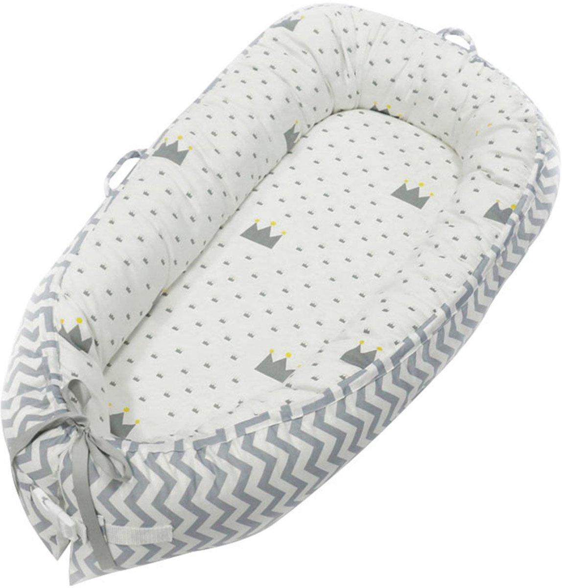 Little World Babynest Sleepy White