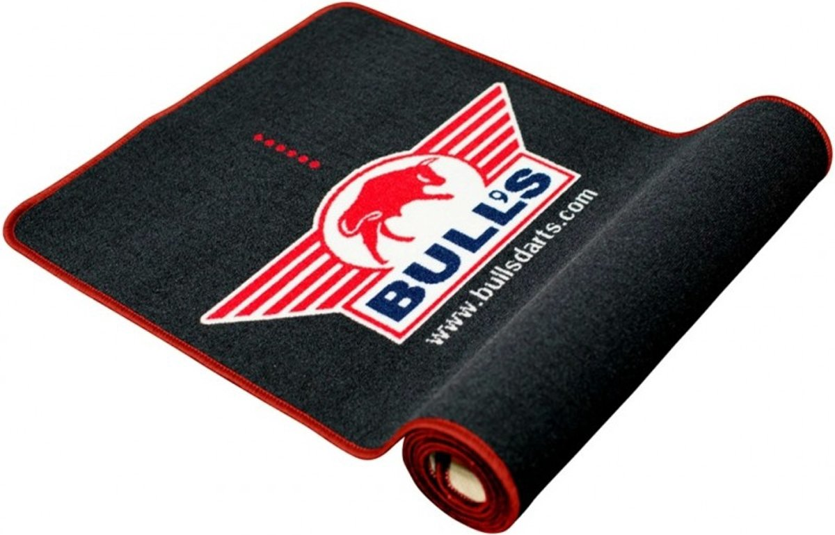 Bull's Dartmat/Carpet Zwart/Rood 300 x 67 cm kopen