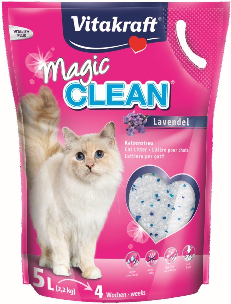 Vitakraft - kattenbakvulling - Magic Clean - lavendel - 5 L kopen