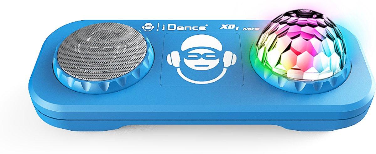 iDance Bluetooth Party System ingebouwd Disco Licht - Blauw kopen