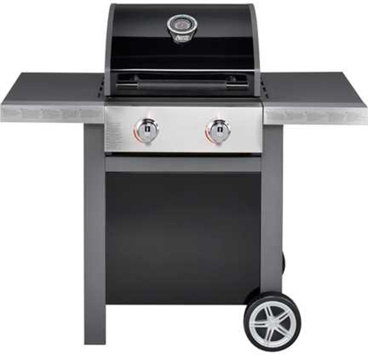 Jamie Oliver Home 2 Gasbarbecue - 2 branders - Zwart kopen