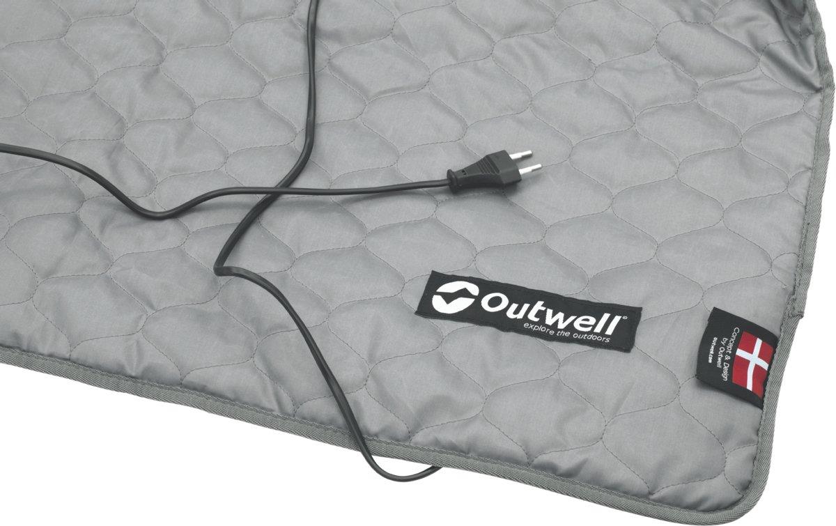 Outwell Electrical Heating Carpet M Tentaccessoires textiel grijs kopen