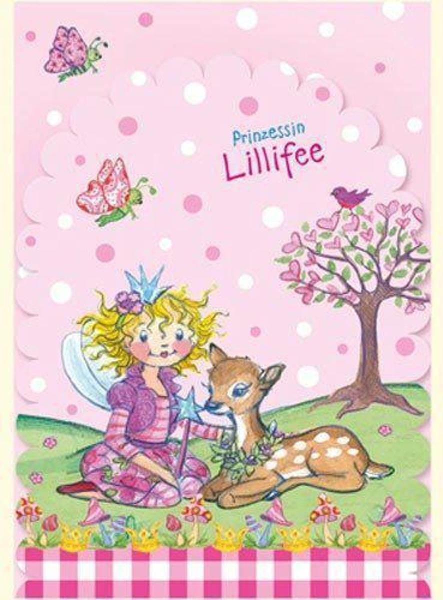 Lillifee Uitnodigingskaartjes - 8 stuks - met enveloppen