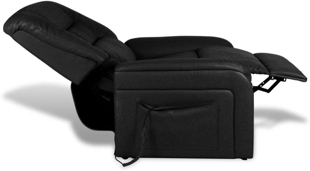 Stoel Voor Ouderen : Bol.com vidaxl fauteuil elektrisch verstelbaar kunstleer zwart