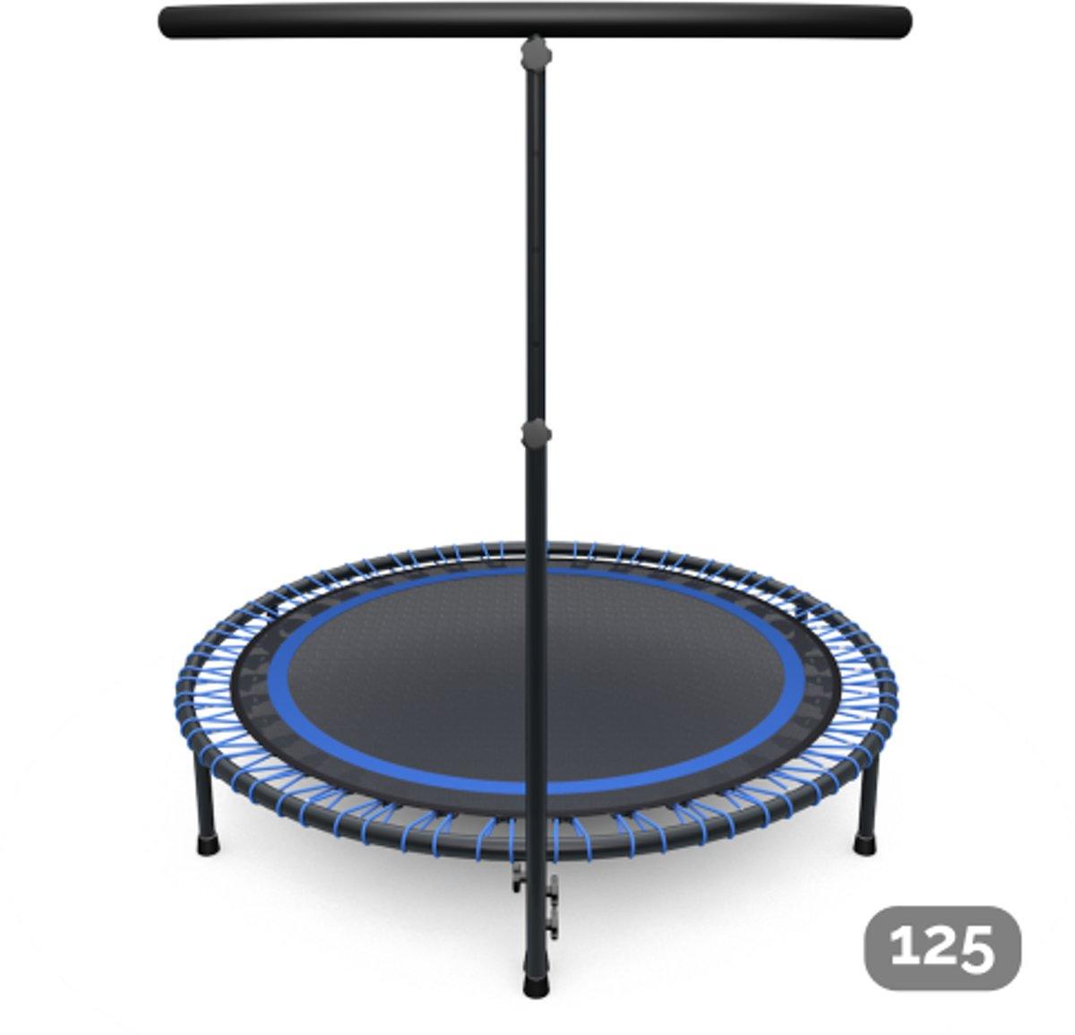 Fitness trampoline blauw