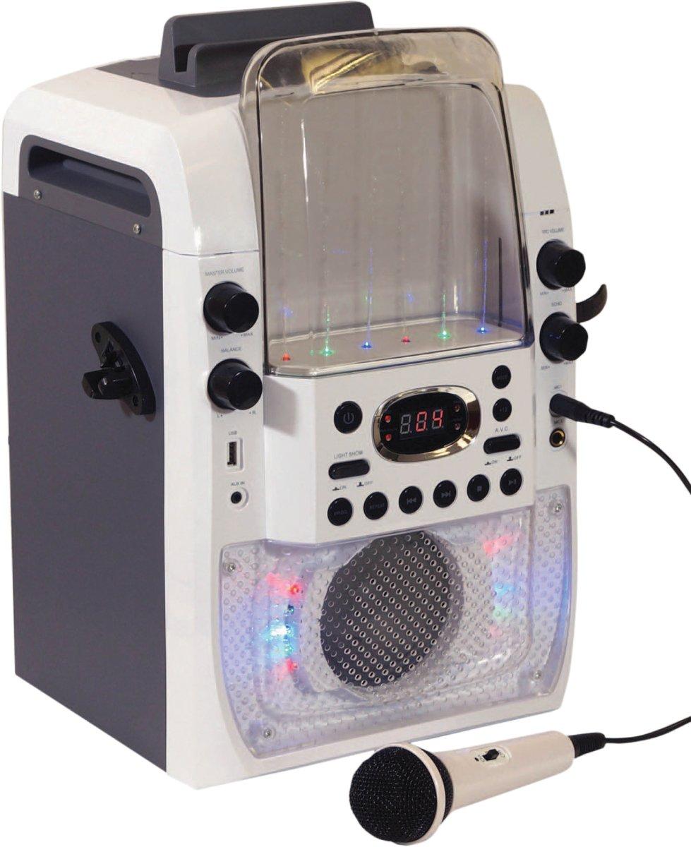 MR Entertainer CDG karaoke systeem met water effect