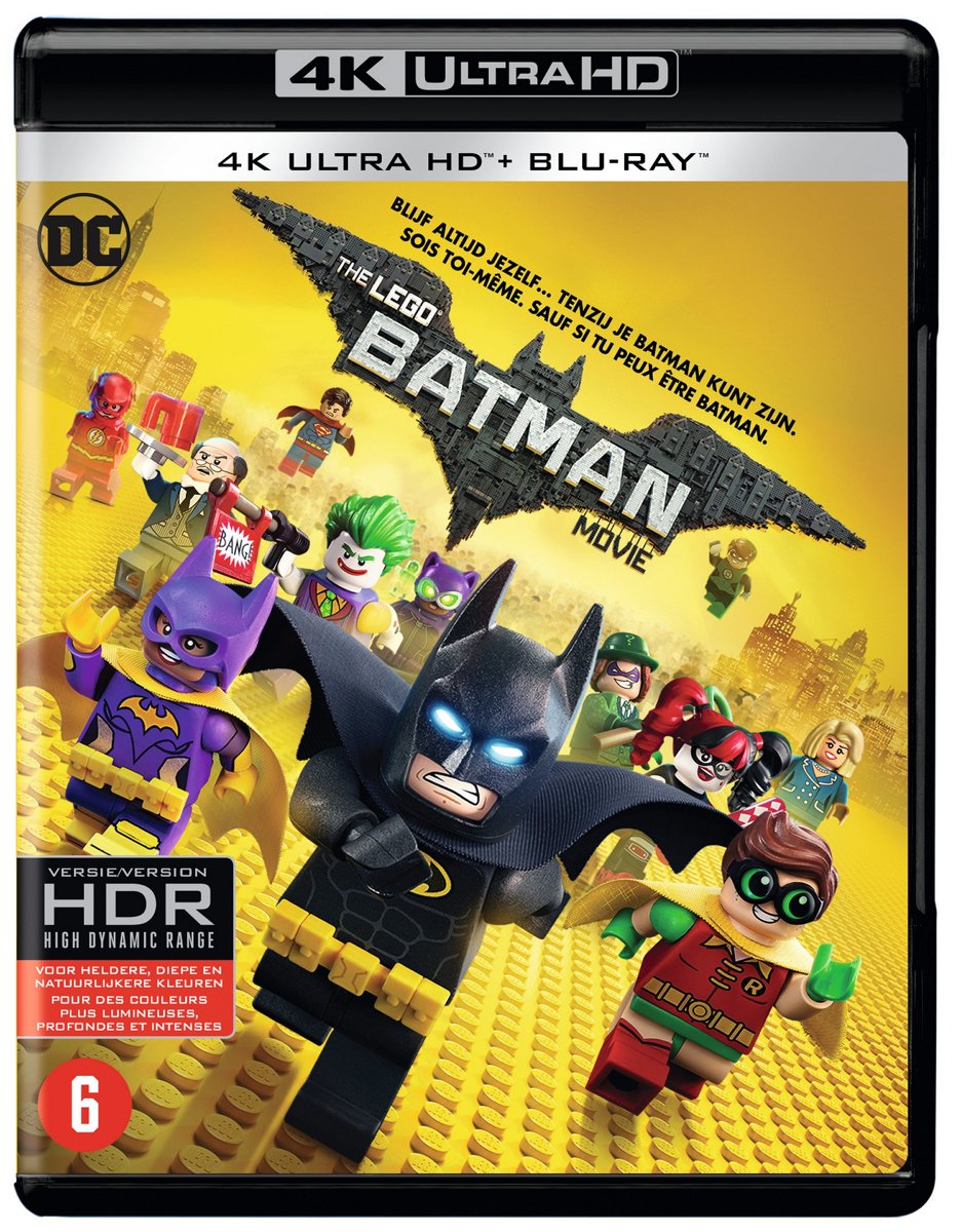 The LEGO Batman Movie (2017) (4K Ultra HD Blu-ray)-