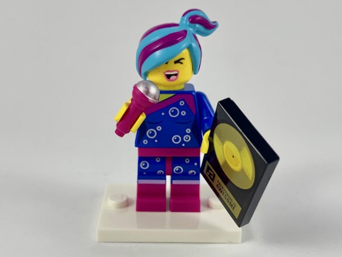 LEGO Minifiguur The LEGO Movie 2 LegoFlashback Lucy coltlm2-9