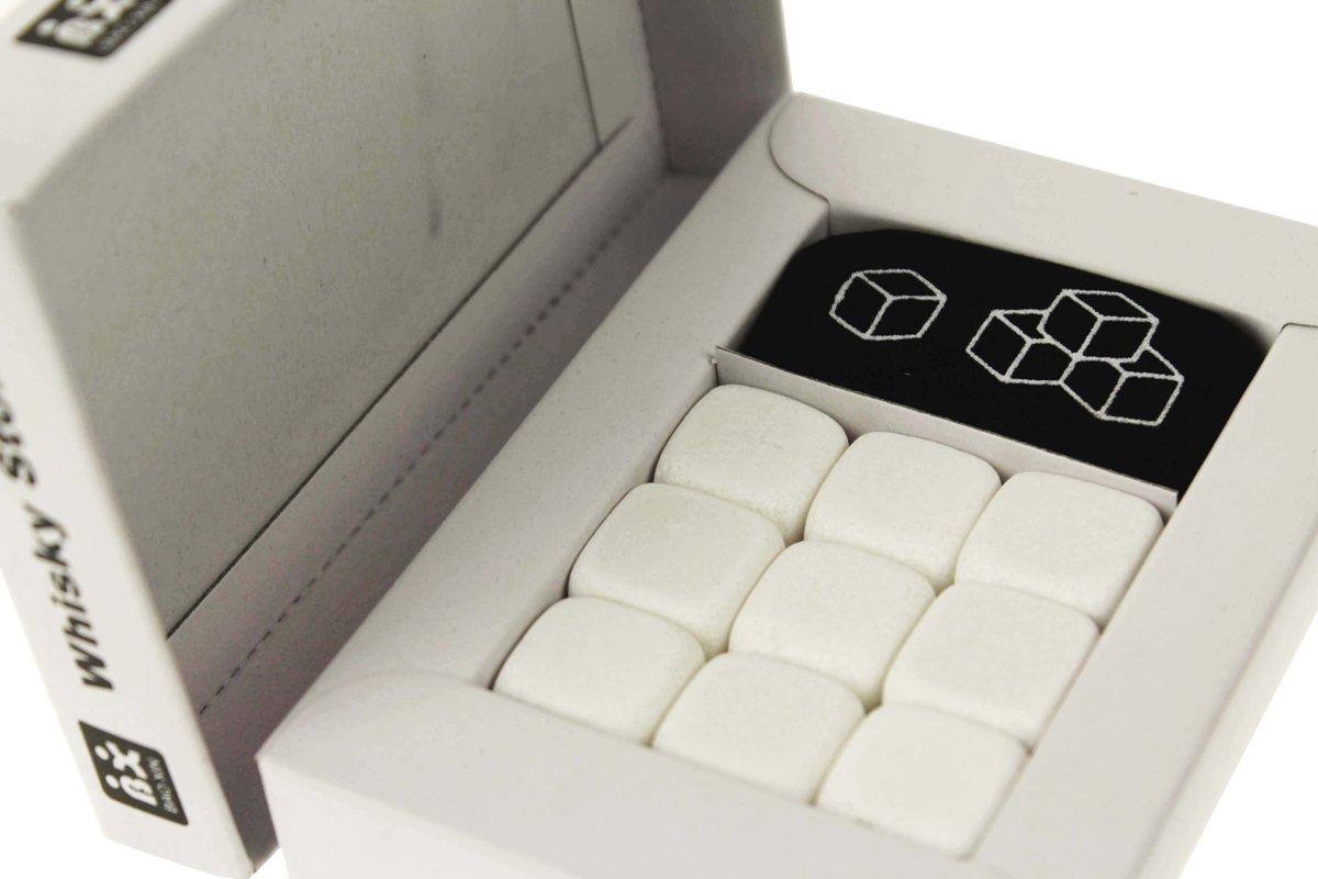 Ijsblok vervanger - Whisky Stones Wit - Set van 9 kopen