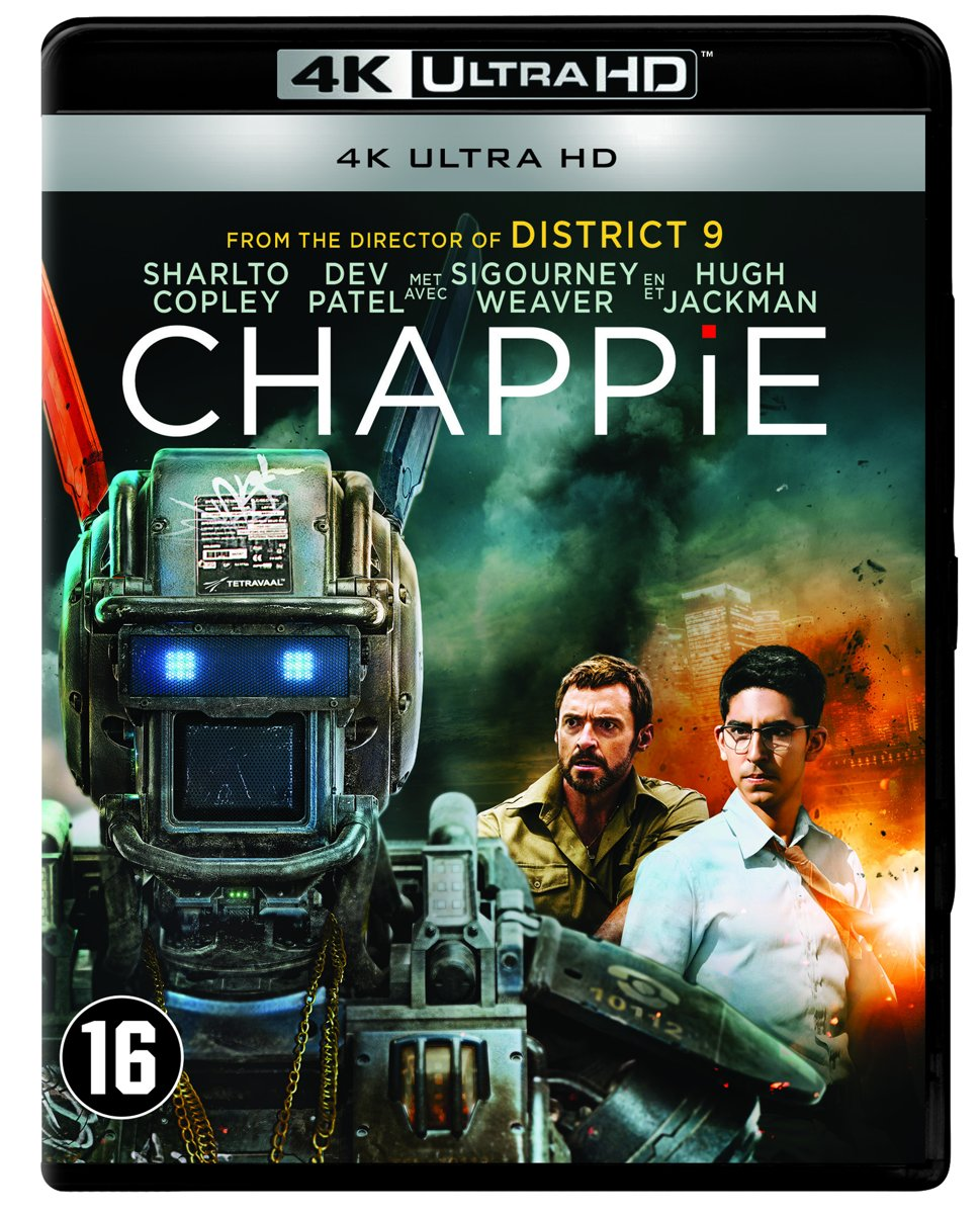 Chappie (4K Ultra HD Blu-ray)-