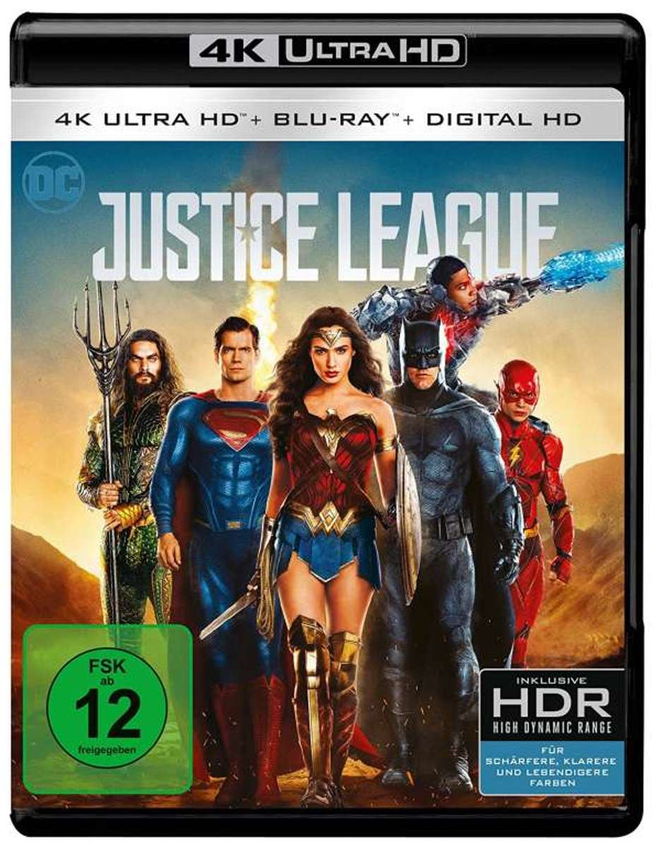Justice League (Ultra HD Blu-ray)-