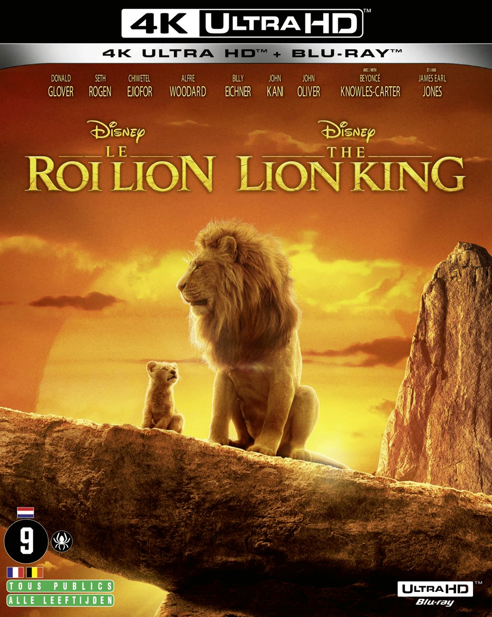 The Lion King (4K Ultra HD Blu-ray) (Import zonder NL)-