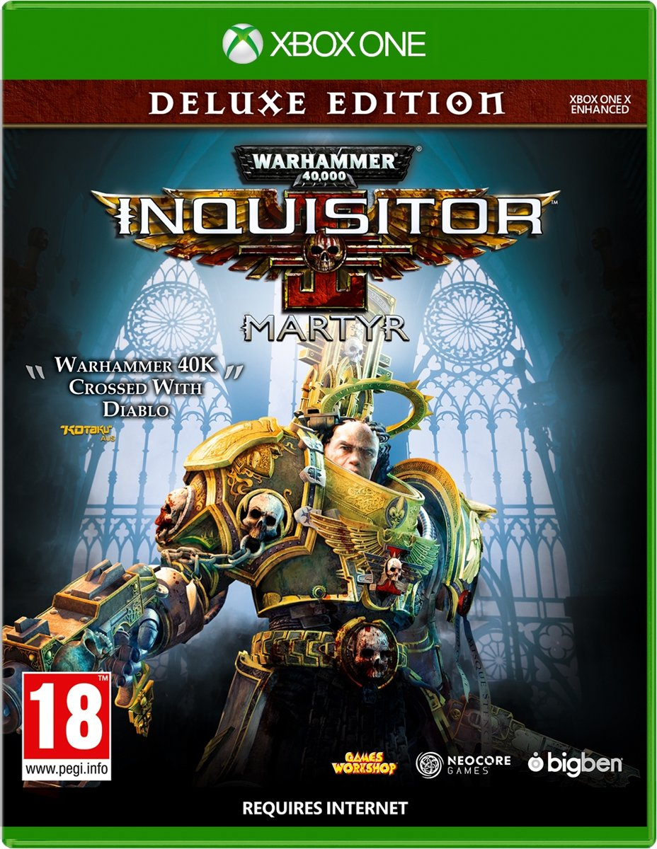 Warhammer 40K Inquisitor Martyr - Deluxe Edition Xbox One