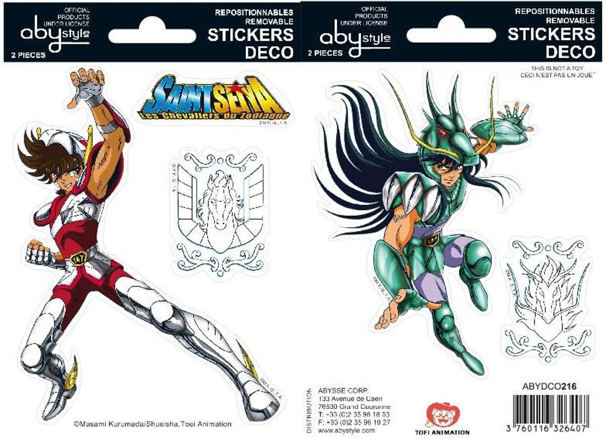 ABYstyle ABYDCO216 Multi kleuren 2stuk(s) sticker