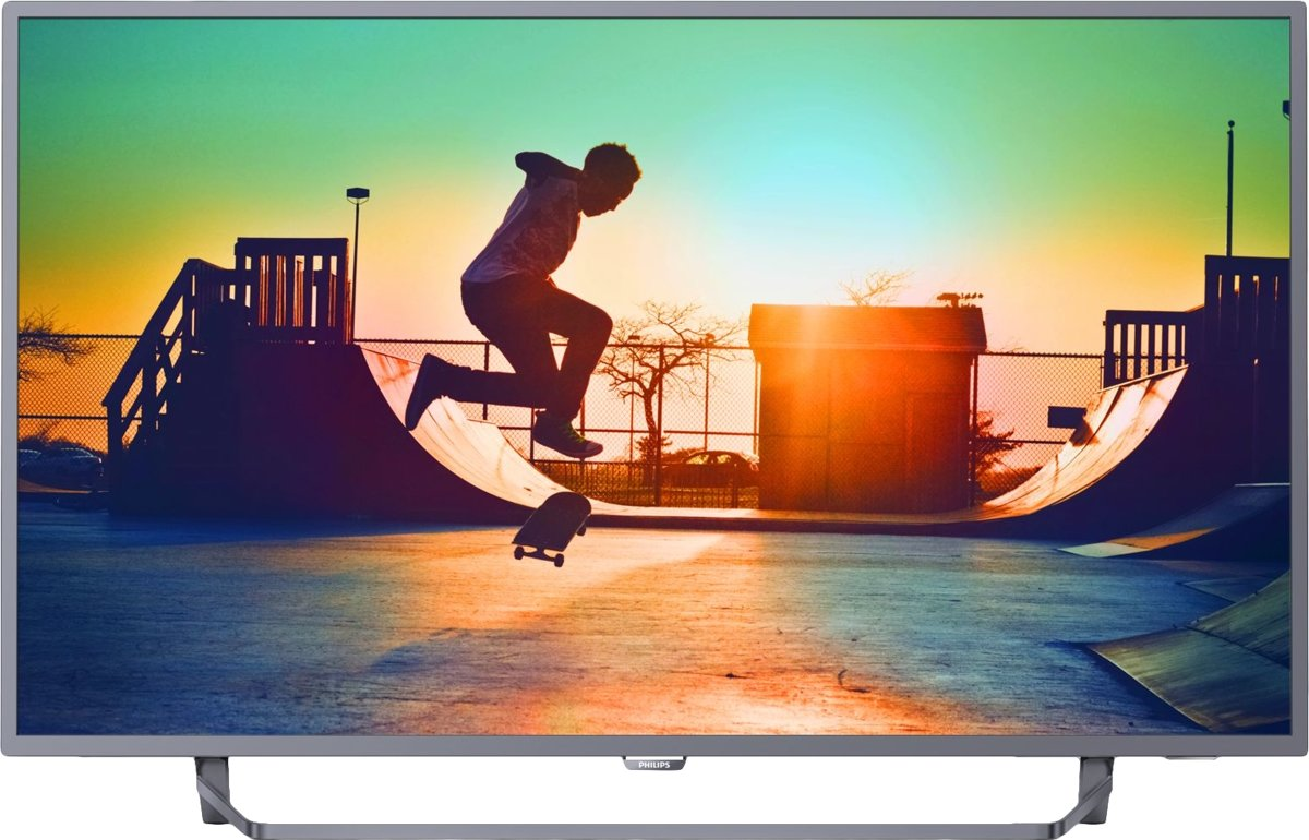 Philips 6000 series Ultraslanke 4K Smart LED-TV 50PUS6272/12 voor €399,95