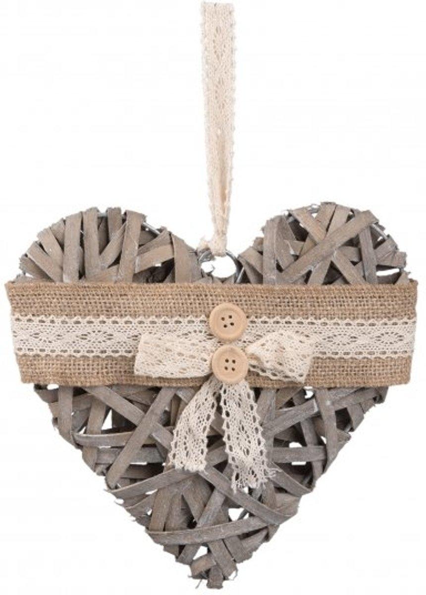 Clayre & Eef Hanger hart 20x4x20 cm kopen