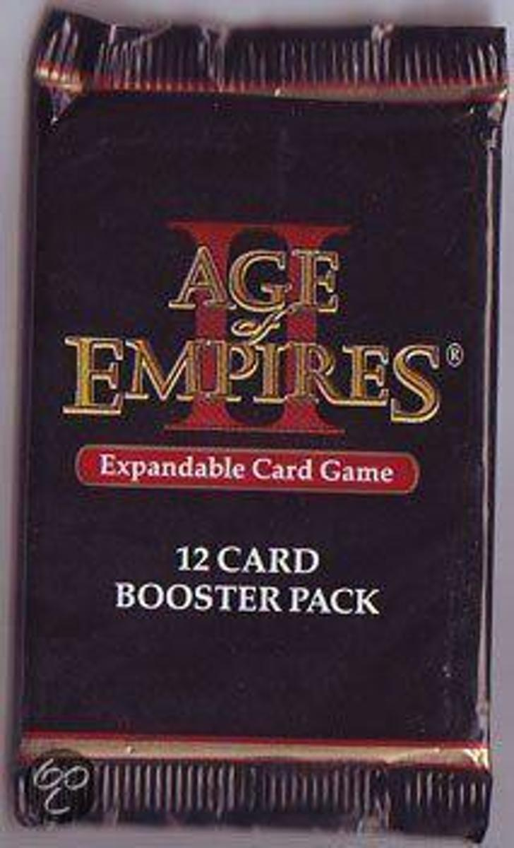 Age of Empires II 12-card booster pack