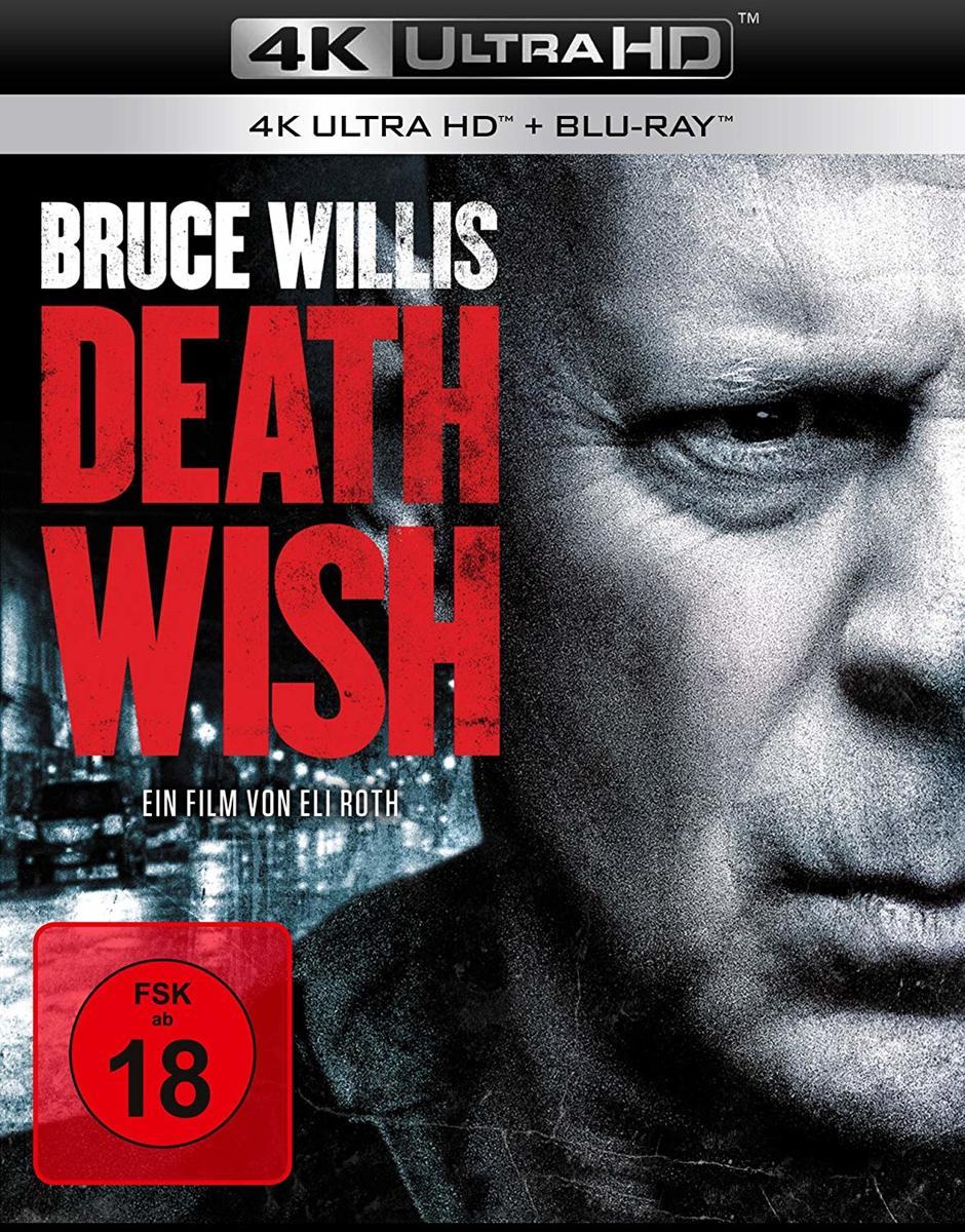 Death Wish (2017) (Ultra HD Blu-ray & Blu-ray)-