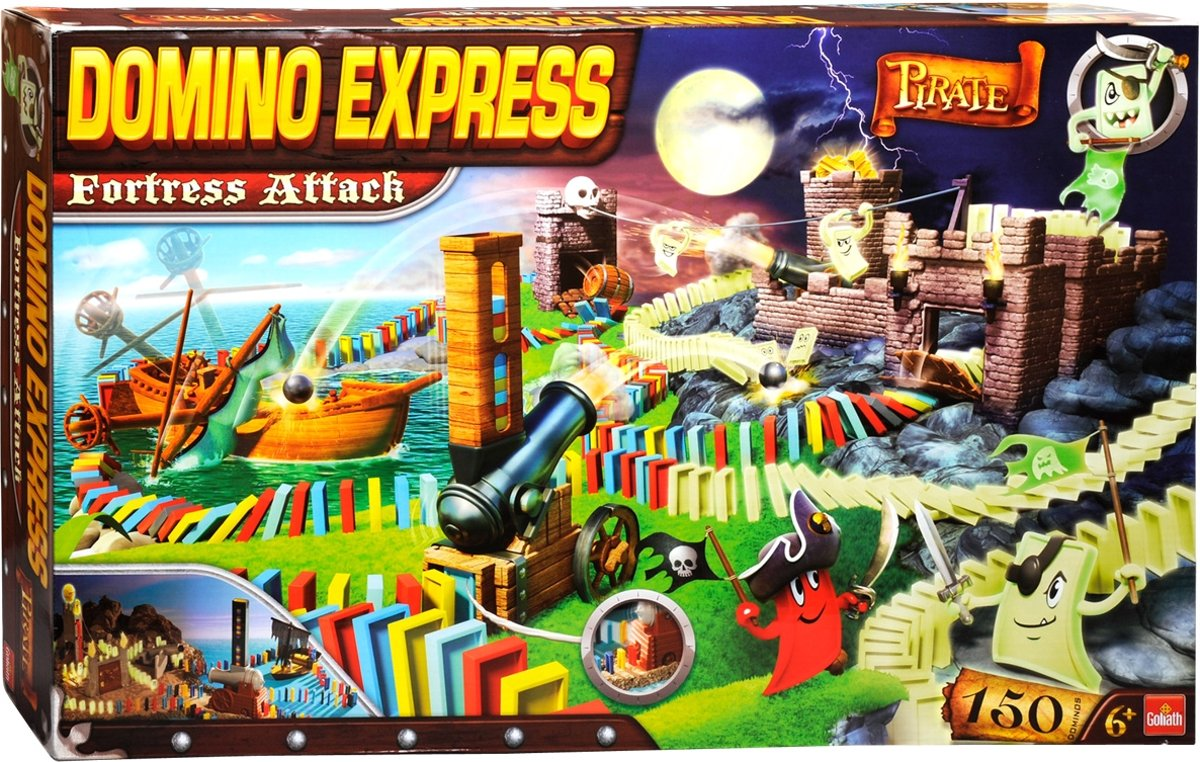 Domino Express - Pirate Fortress Attack