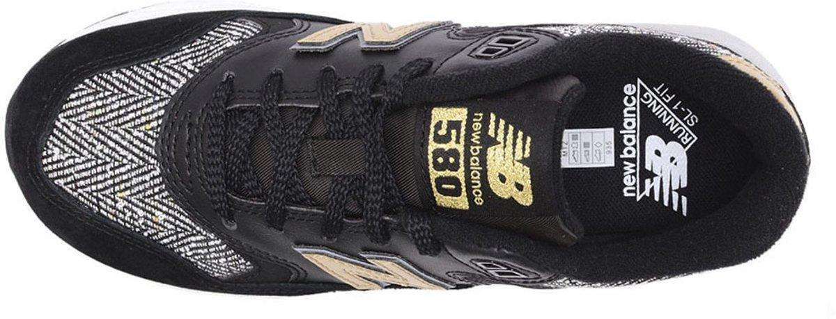 new balance 580 dames sneaker zwart