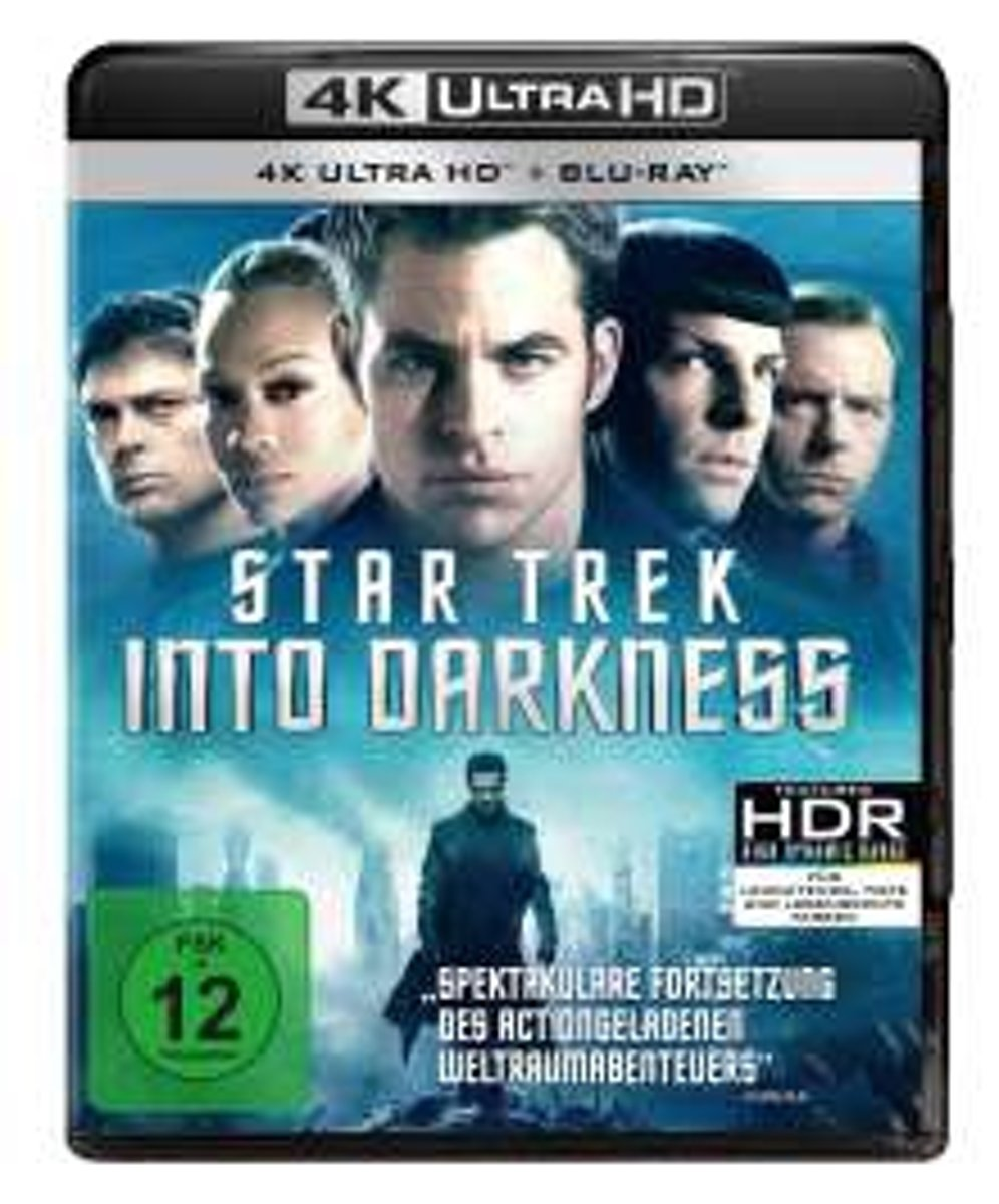 Star Trek - Into Darkness (Ultra HD Blu-ray & Blu-ray)-