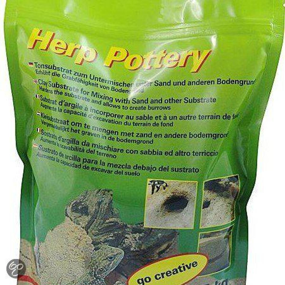 Lucky Reptile Herp Pottery - 2.5 kg