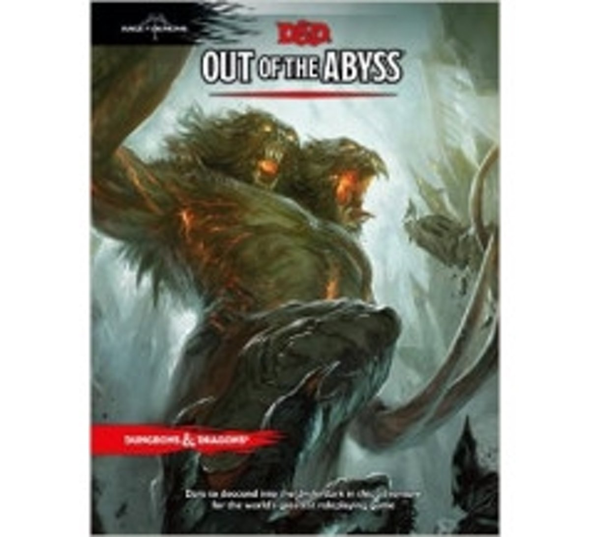 D&D 5.0 - Out of the Abyss Rage of Demons TRPG