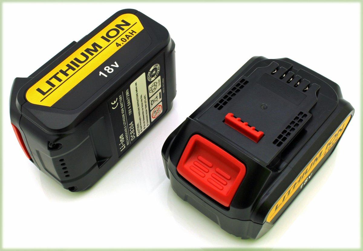 2 Accu's, batterijen voor  DeWalt XR, 4000 mAh, 18-20V kopen
