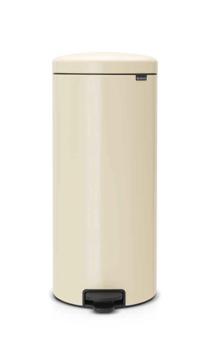 Brabantia Prullenbak 30 Liter.Brabantia Newicon Prullenbak 30 L Almond