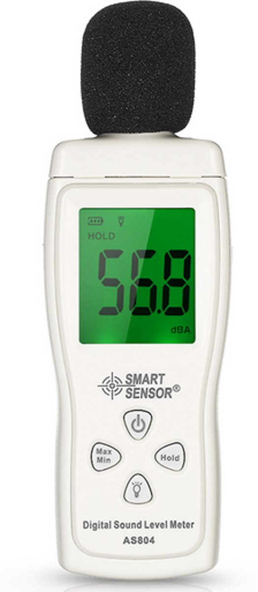 Decibelmeter Geluidsmeter HaverCo 30dB tot 130dBA / Geluid meten tester kopen