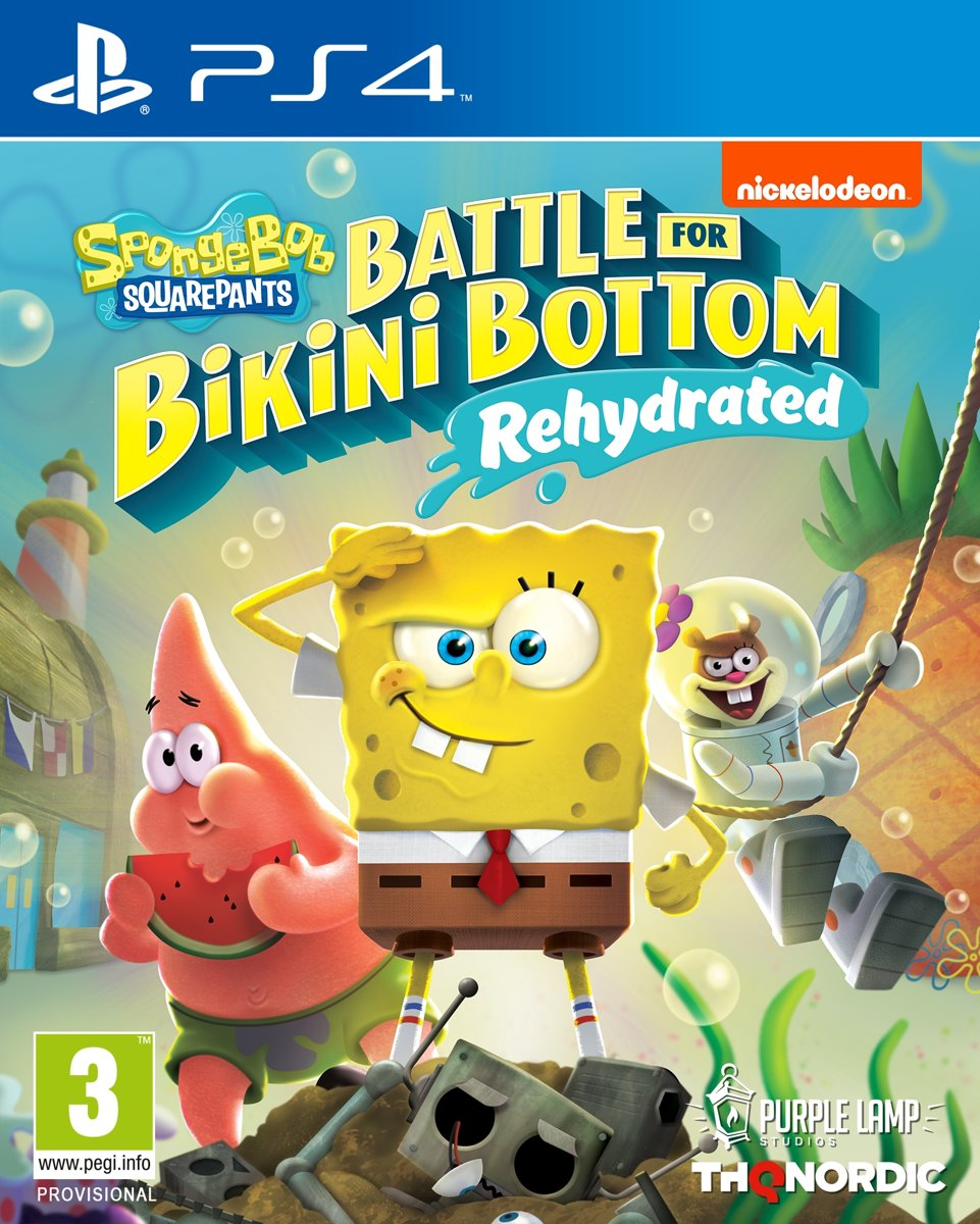 Spongebob SquarePants: Battle for Bikini Bottom - Rehydrated PlayStation 4