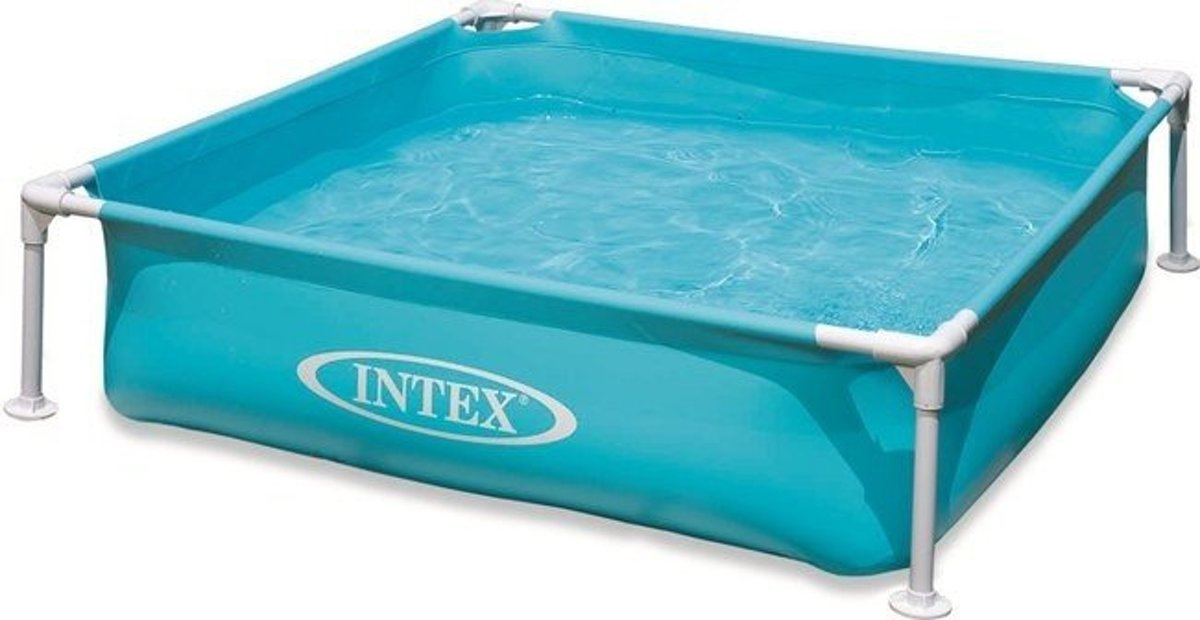 Intex Mini Frame Pool Zwembad 122 X 122 cm - Assorti