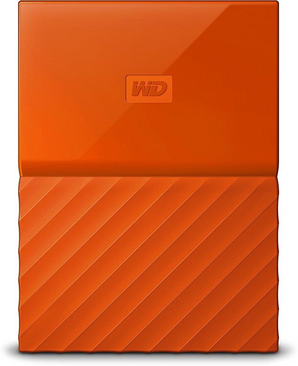 WD My Passport 2TB Portable oranje kopen