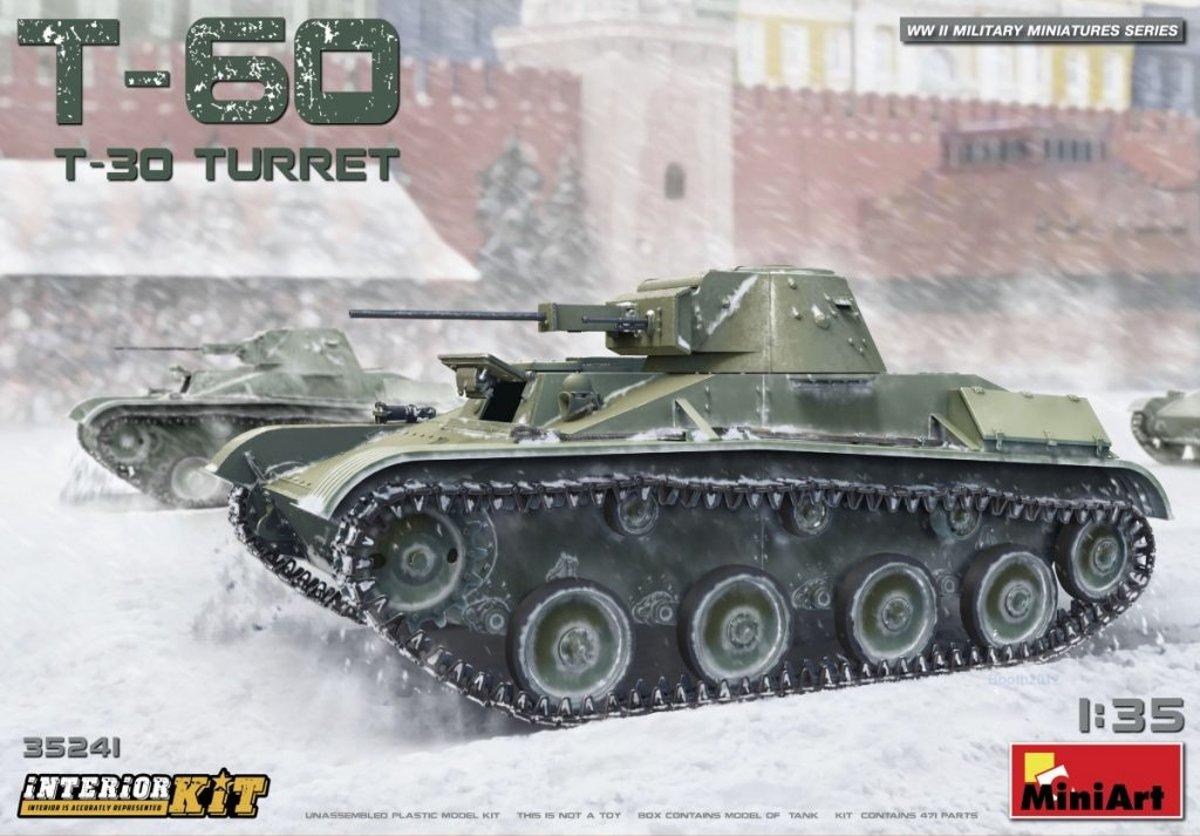 Miniart - T-60  T-30 Turret  Interior Kit (Min35241)