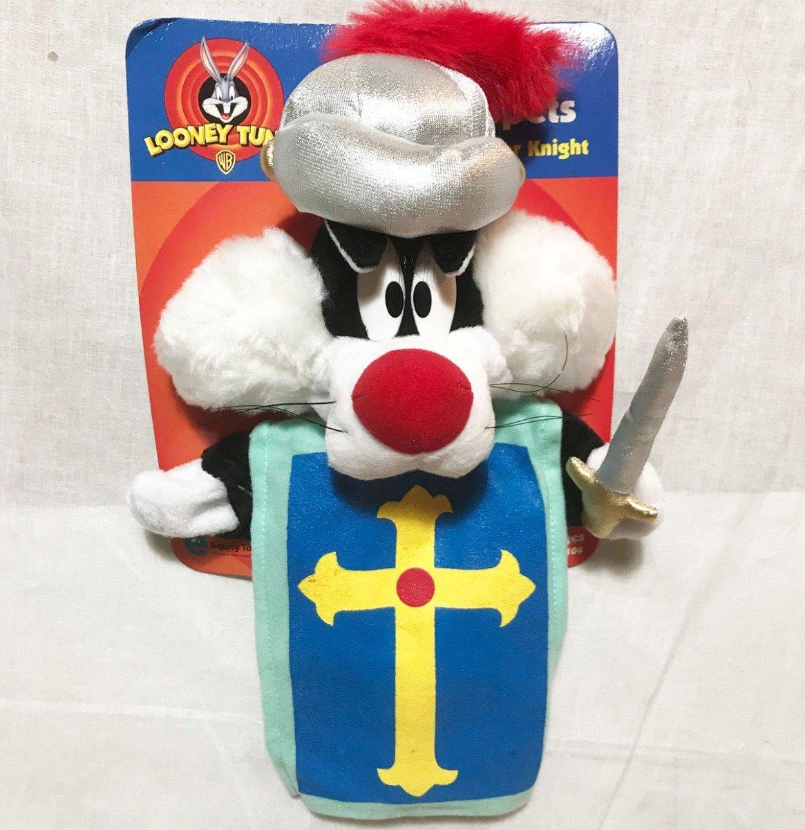 Looney Tunes Sylvester Als Ridder Poppekast-pop