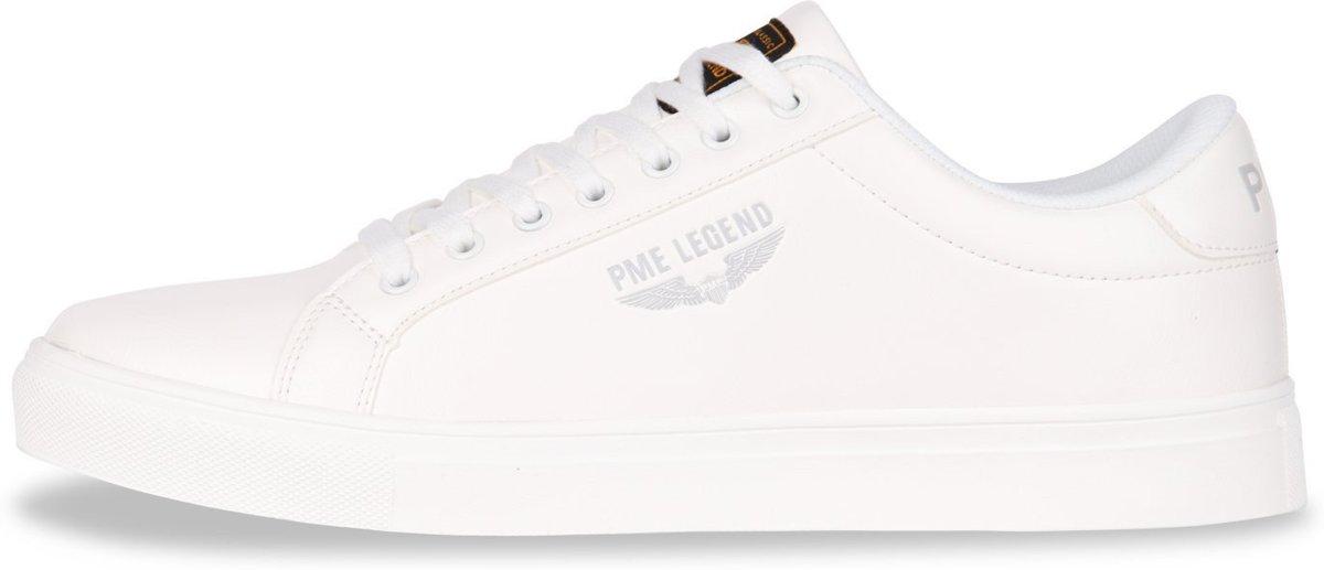 Goede bol.com | PME Legend - Heren Sneakers Falcon White - Wit - Maat 43 UT-24